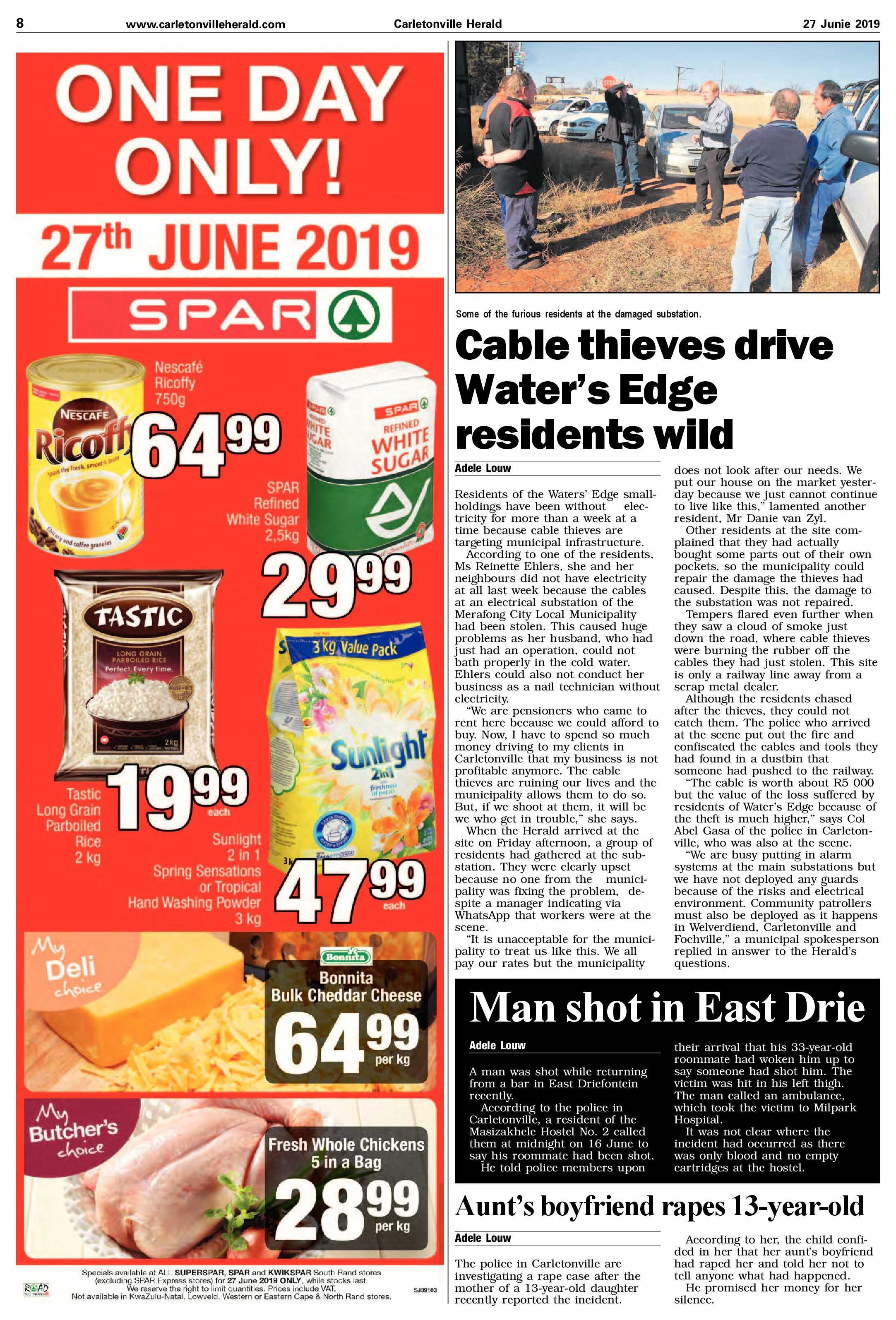 27 June 2019 | Carletonville Herald